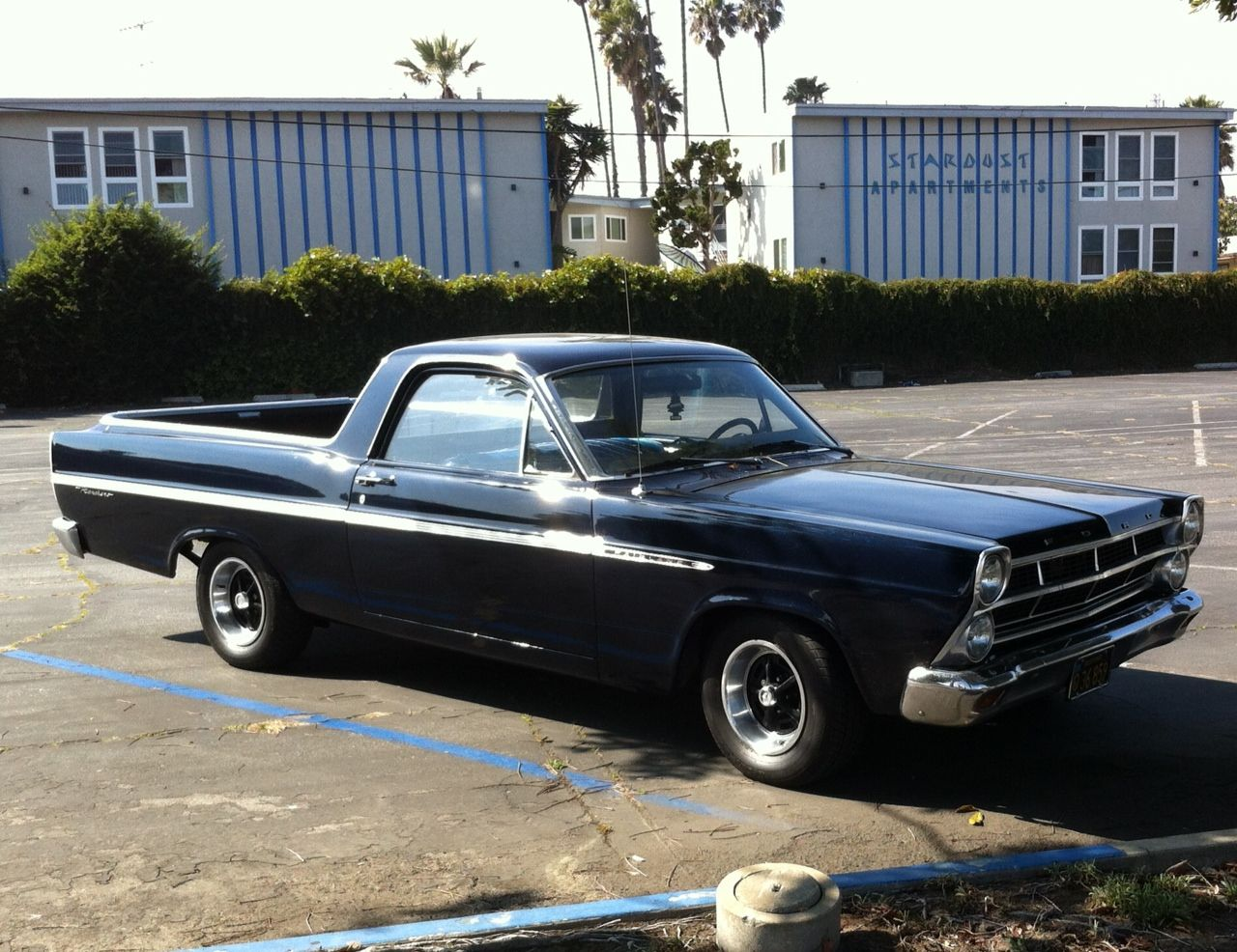 This Mid 60s Ford Ranchero Looks Right At Home In Front Of