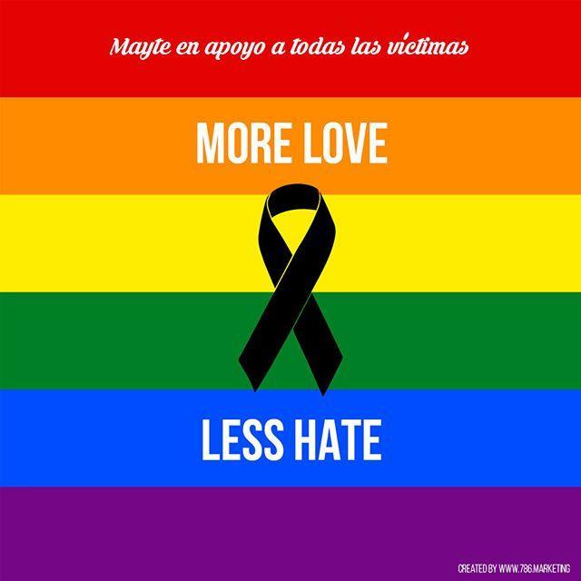 #PrayForOrlando #LoveIsLove #Equality #MoreLoveLessHate #Orlando #StopViolence #PrayForOrlando #LoveIsLove