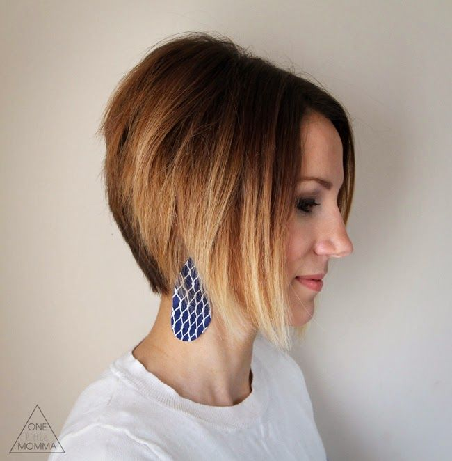 How to color your own ombre- short hair ombre tutorial