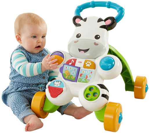 Fisher and Price Learn with Me Zebra Musical Activity Baby