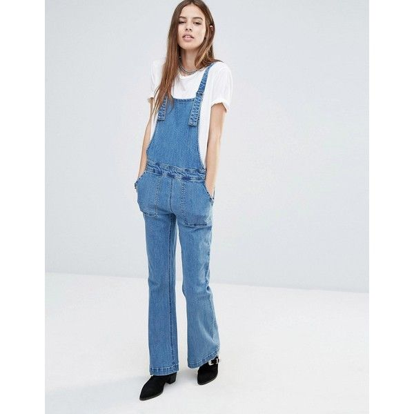 935487793fad Noisy May Retro Dungarees ( 19) ❤ liked on Polyvore featuring jumpsuits