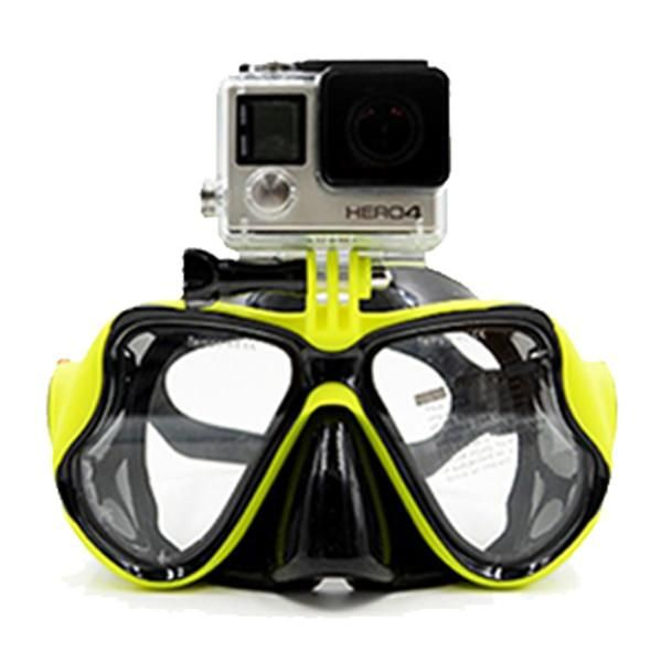 160c96712 Snorkeling Diving Mask With Camera Mount in 2019