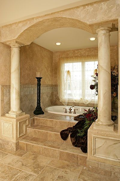 Ayfkm I Waaaannnt This Master Bathroom With Columns Dream Bathrooms Luxury
