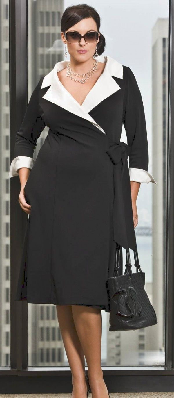 eaa52b6011e 15 Fashion Tips For Plus Size Women Over 50 – Outfit Ideas