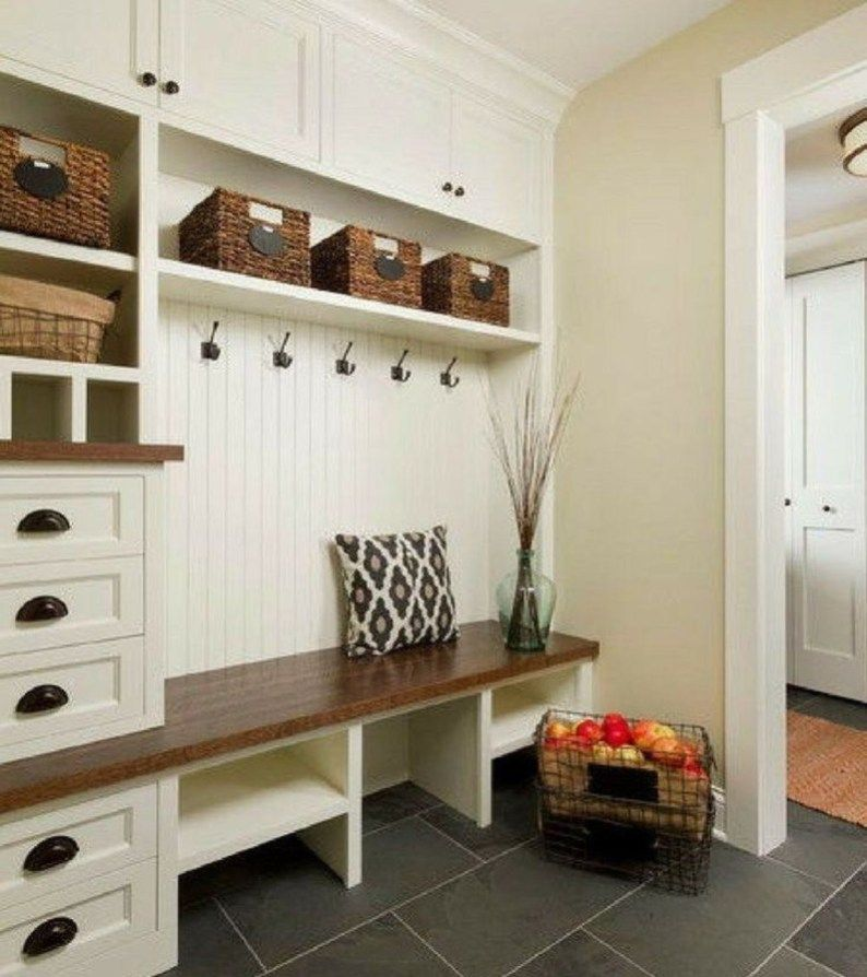 Closet Ideas Mudroom Design: Perfect Mudroom Bench Decorating Ideas On A Budget 04