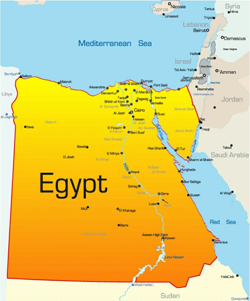 Map Of Cairo In Africa Pin by carrie sheely on Africa | Egypt map, Egypt, Cairo