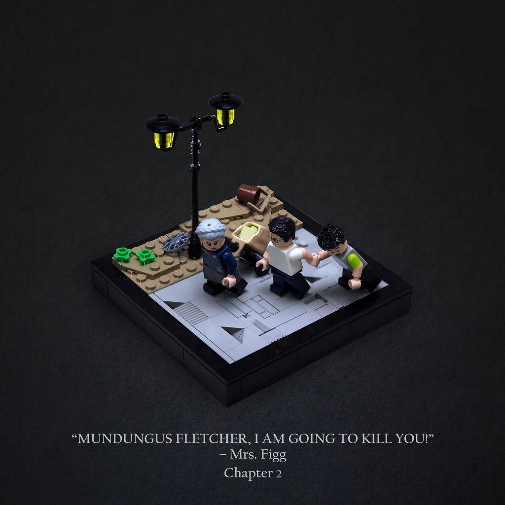 Mrs Figg Harry Potter Lego Sets Lego Harry Potter Lego
