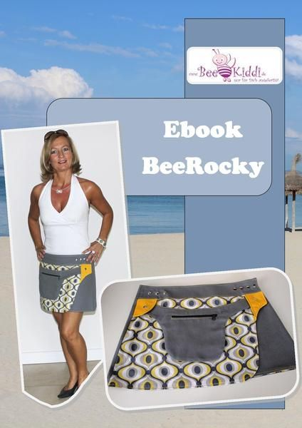 Ebook Wickelrock BeeRocky Gr. 34 - 50 von BeeKiddi auf DaWanda.com