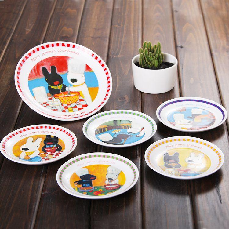 Find More Dinnerware Sets Information About Japanese Anime Cartoon Ceramic Dish Set A Five Dish Pastry Cake Plate Fr Ceramic Dish Set Fruit Plate Fruit Cartoon