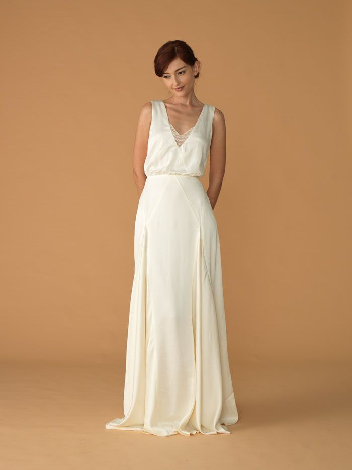 I think that is a godet style skirt? Misty gown by We Love Yu ...