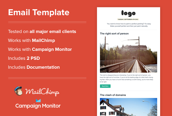 Email Newsletter Html A Clean Simple Newsletter Template