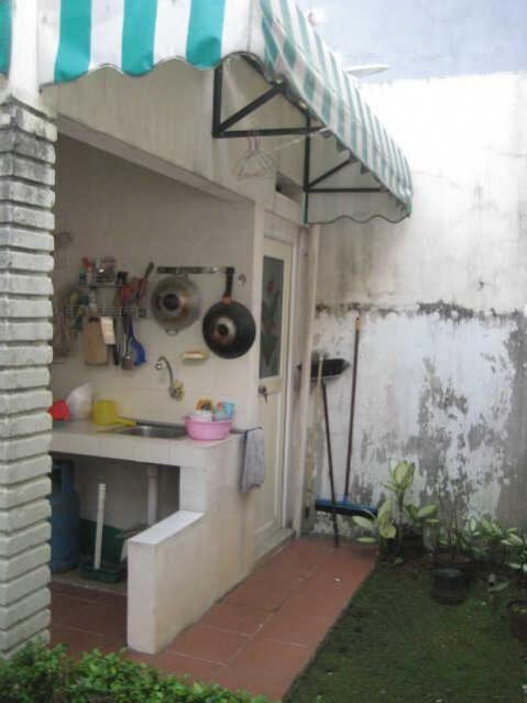 Outdoor Kitchen Dapur Kotor Dapur Luar Ruangan Desain Rumah