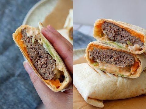Big Mac Inspireret Wraps - One Kitchen DK - YouTube