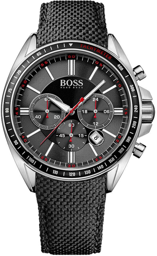hugo boss watch driver chrono sport mens what time is it. Black Bedroom Furniture Sets. Home Design Ideas
