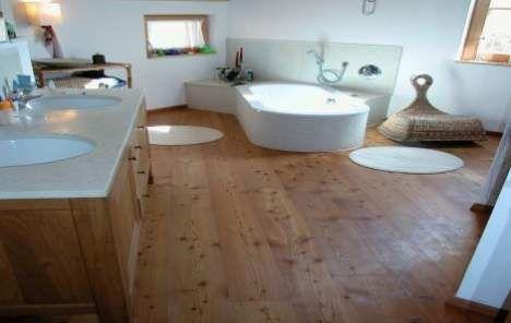 Holzboden im Bad - Neubau - Hausideen, so wollen wir bauen ...