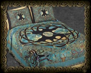 Celtic Art Textiles By Jen Delyth   Wall Hangings, Fine Art Tapestries,  Afghan Throws, By Jen Delyth
