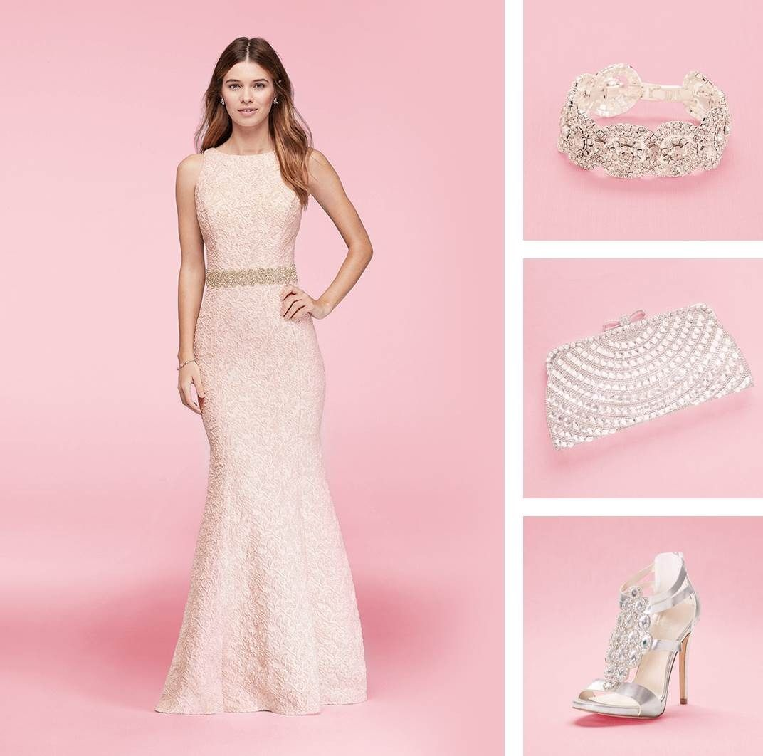 What to wear to a formal wedding made easy. Start with a chic gown ...