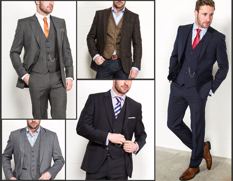 Suit style and colour are important for an authentic dapper look ...