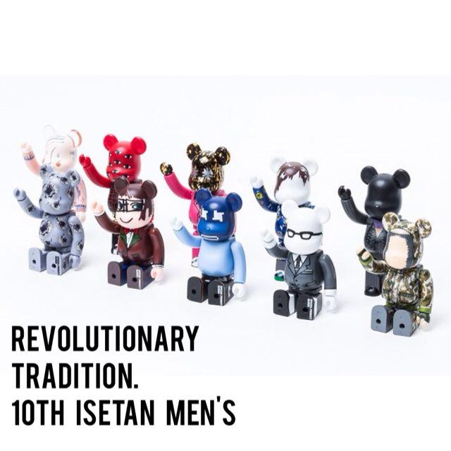 ISETAN MEN 'S MEETS SPECIAL PRODUCT DESIGN 베어브릭 ( BE@RBRICK ) 10주년 기념 한정판 bearbrick
