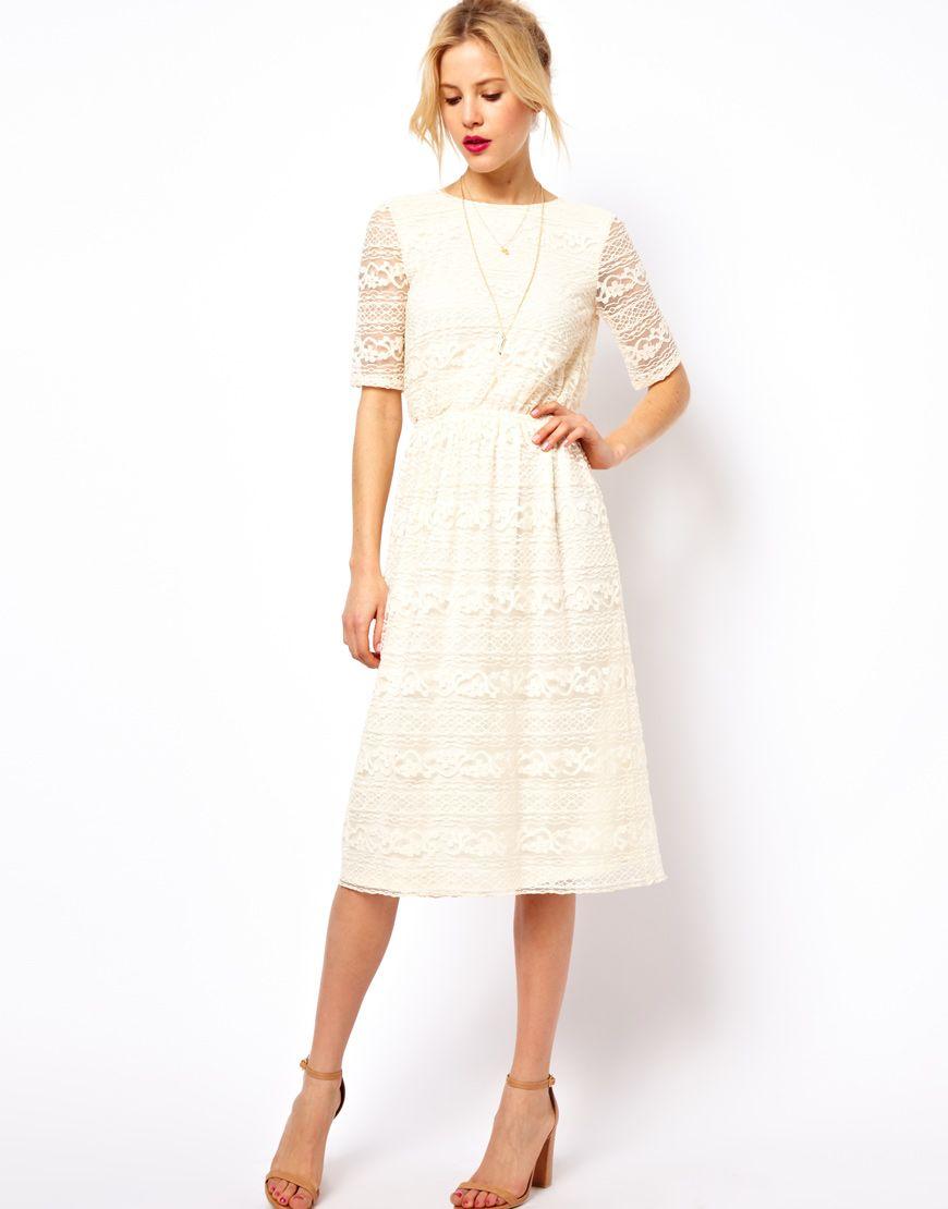 Pin von Mary E auf ropa modesta | Pinterest | Standesamt, Kleider ...
