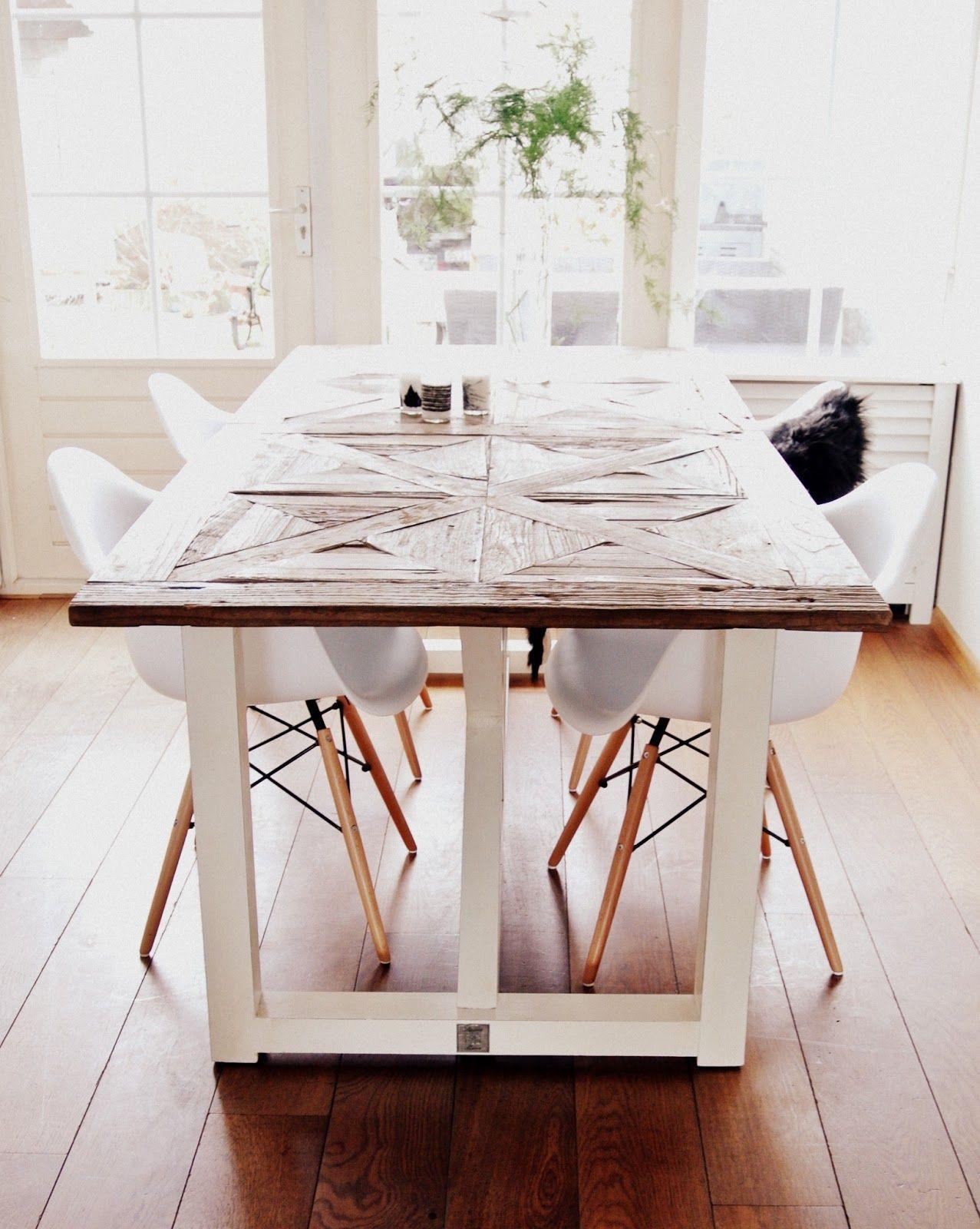 Pin Van Teresa Rohm Op My Home My Blog Eettafel Stoel Rustieke Tafel Mooie Keuken