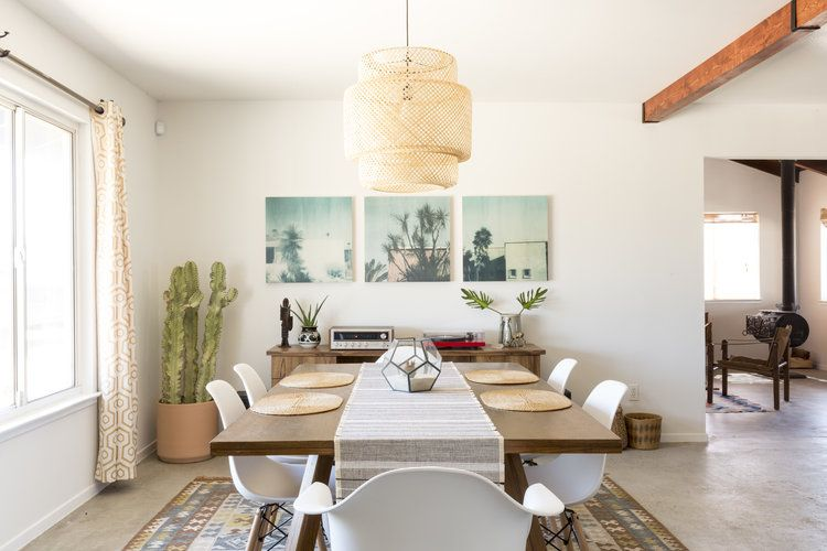 Stylish Dining Room Setup By Jamie Arrigo Western Desert