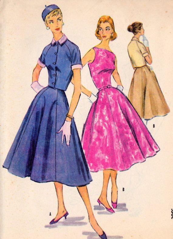 1950s Misses Rockabilly Lolia Shirtwaist Dress | 1950-1959 ...