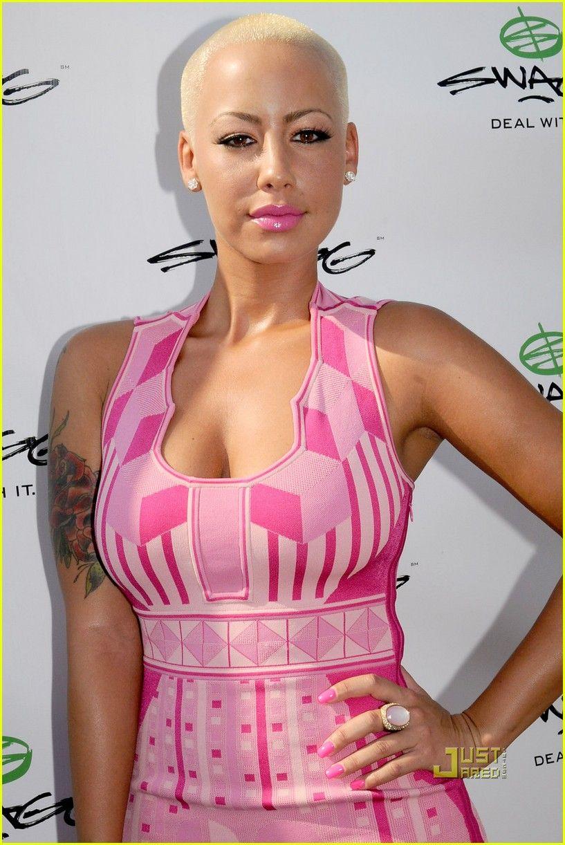 Amber Rose Bald Buzzed Women Amber Rose Amber Short Hair Styles