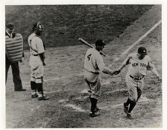 Babe ruth print vintage baseball poster