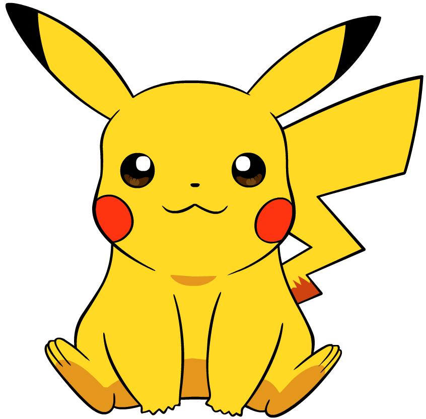 スタンダードなピカチュウのイラスト 消しゴムハンコ Pokémon