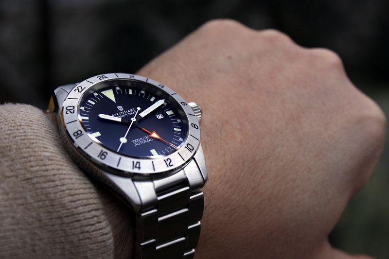 Steinhart Ocean Vintage Gmt Or Ocean 1 Black Gmt Dive Watches Watches For Men Luxury Watches