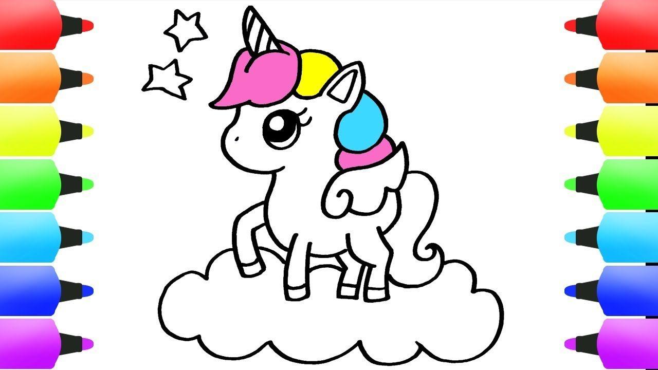 art hub how to draw a unicorn