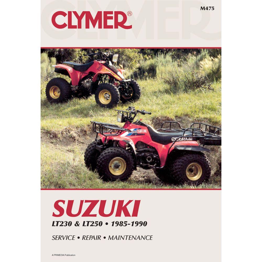 Clymer Suzuki Lt230 Lt250 1985 1990 Boat Parts For Less Clymer Repair Manuals Suzuki