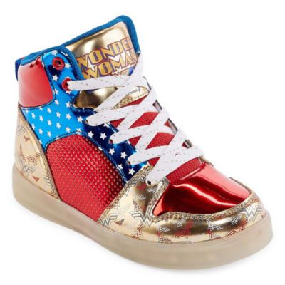 912e5a49a391 Buy Warner Brothers Wonder Woman Light-Up Girls Sneakers - Little Kids Big  Kids at JCPenney.com today and enjoy great savings.
