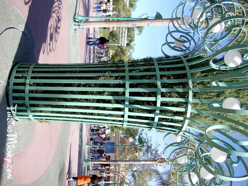 Entrance Plaza - Tree Guard Rivets