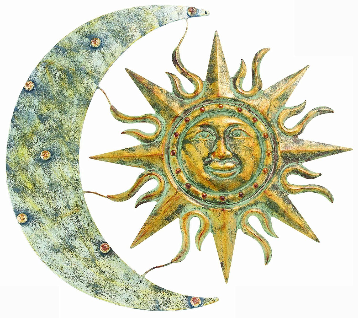 AmazonSmile : Gardman 8415 Aztec Sun and Moon Wall Art, 26\