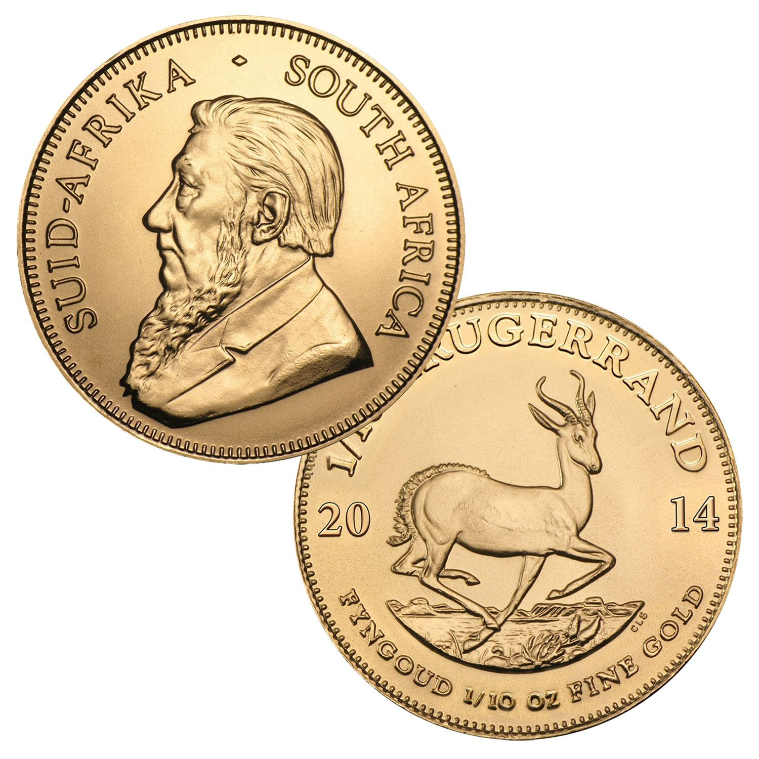 999 1 10 Ounce Gold South African Krugerrand