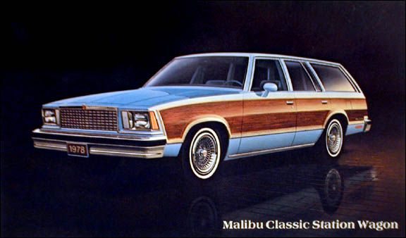 1978 Malibu Classic Station Wagon Station Wagon Chevrolet