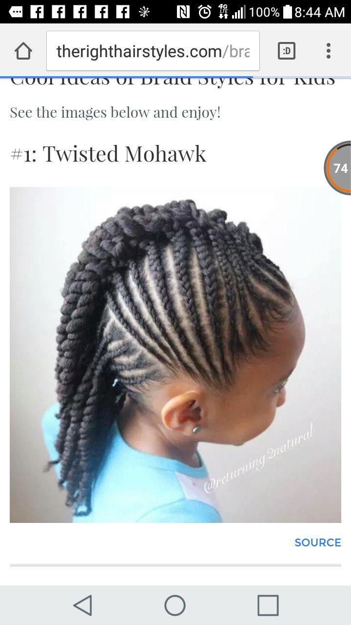 Pin by shanti dixon on african american girls hair styles