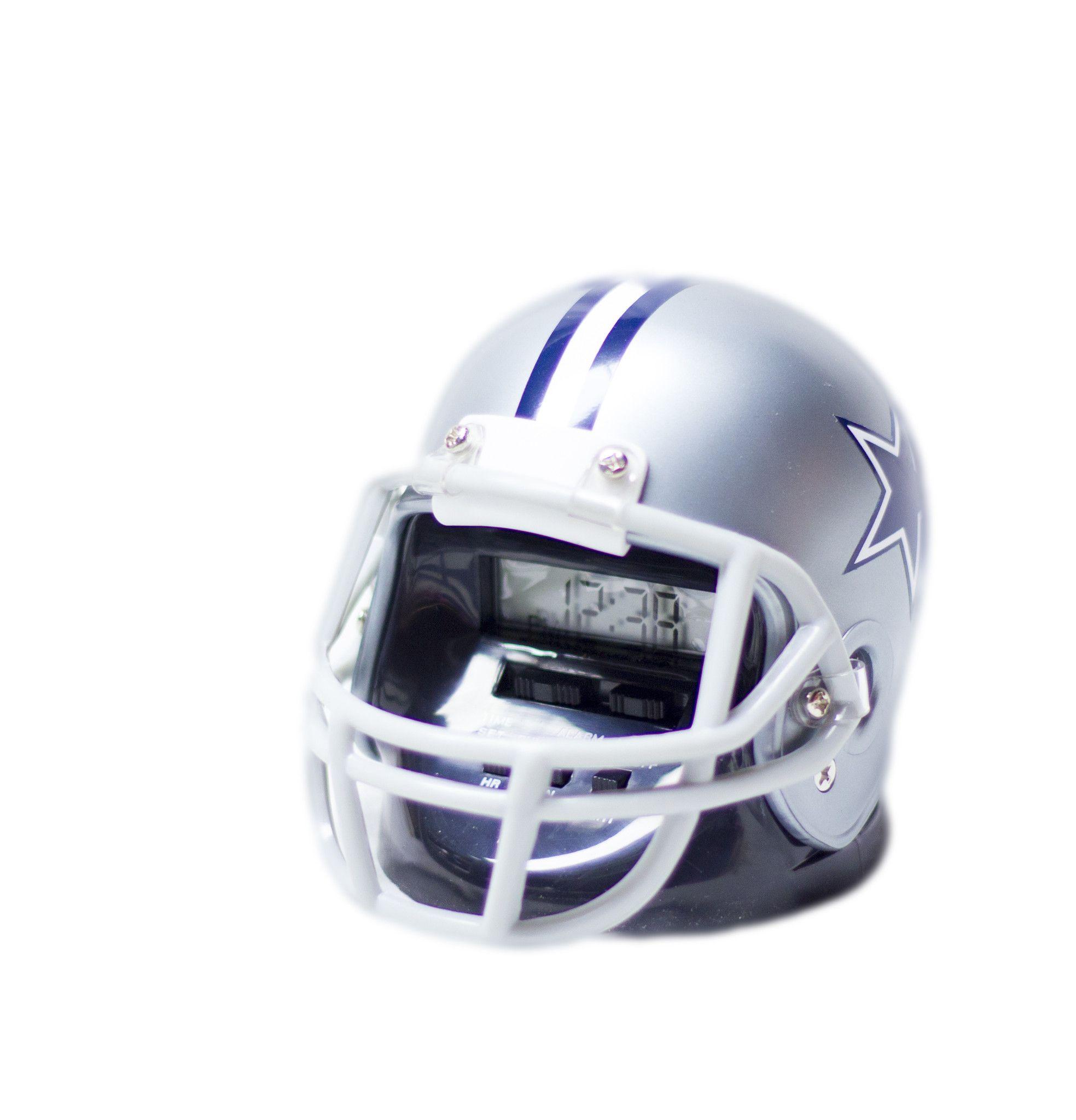 Dallas Cowboys helmet alarm clock