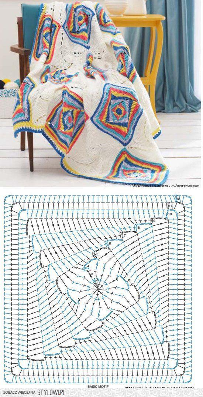 Fabulous Blanket | edith | Pinterest | Ganchillo