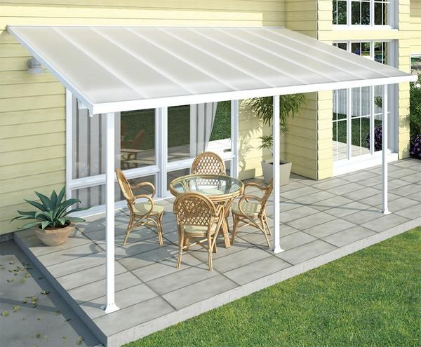FERIA Patio Cover 10x14 White