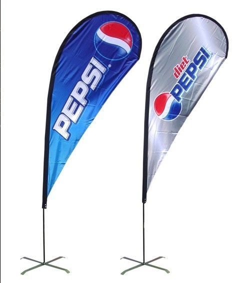 Examples For Custom Tear Drop Flags Teardrop Banner Banner American Flag Images