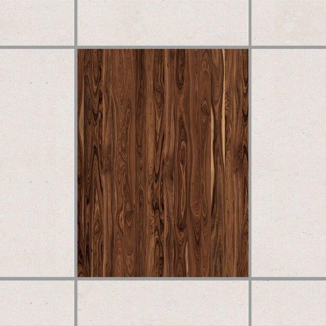 Fliesenaufkleber - Santos Palisander 20cm x 15cm #Fliesensticker - badezimmer garnitur set