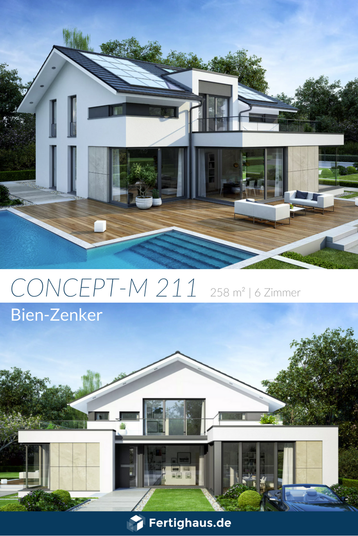 Niedrigenergiehaus 'CONCEPT M 21'   Baufritz ➤ Auswahl von ...