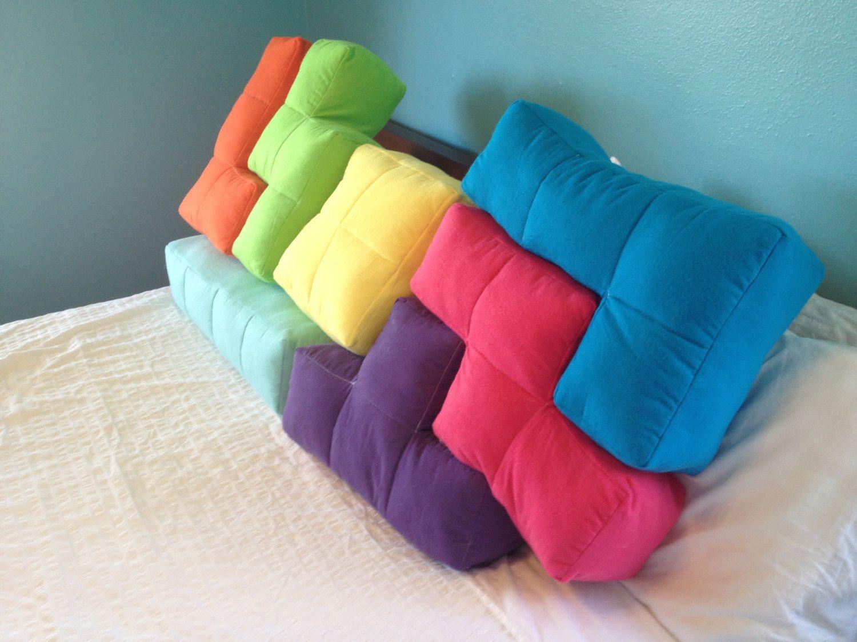 Tetris pillows tetrominoesol game on pinterest pillows