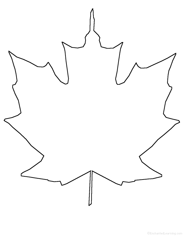 Leaf Template For Writing Leaf Theme At Enchantedlearningcom, Leaf Theme At  Enchantedlearningcom, Clearwater Cottage My New Classroom Decorated For  Autumn ...  Leaf Template For Writing