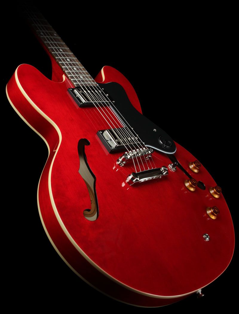 Epiphone Dot Electric Guitar Cherry The Music Zoo Epiphone Cool Electric Guitars Electric Guitar
