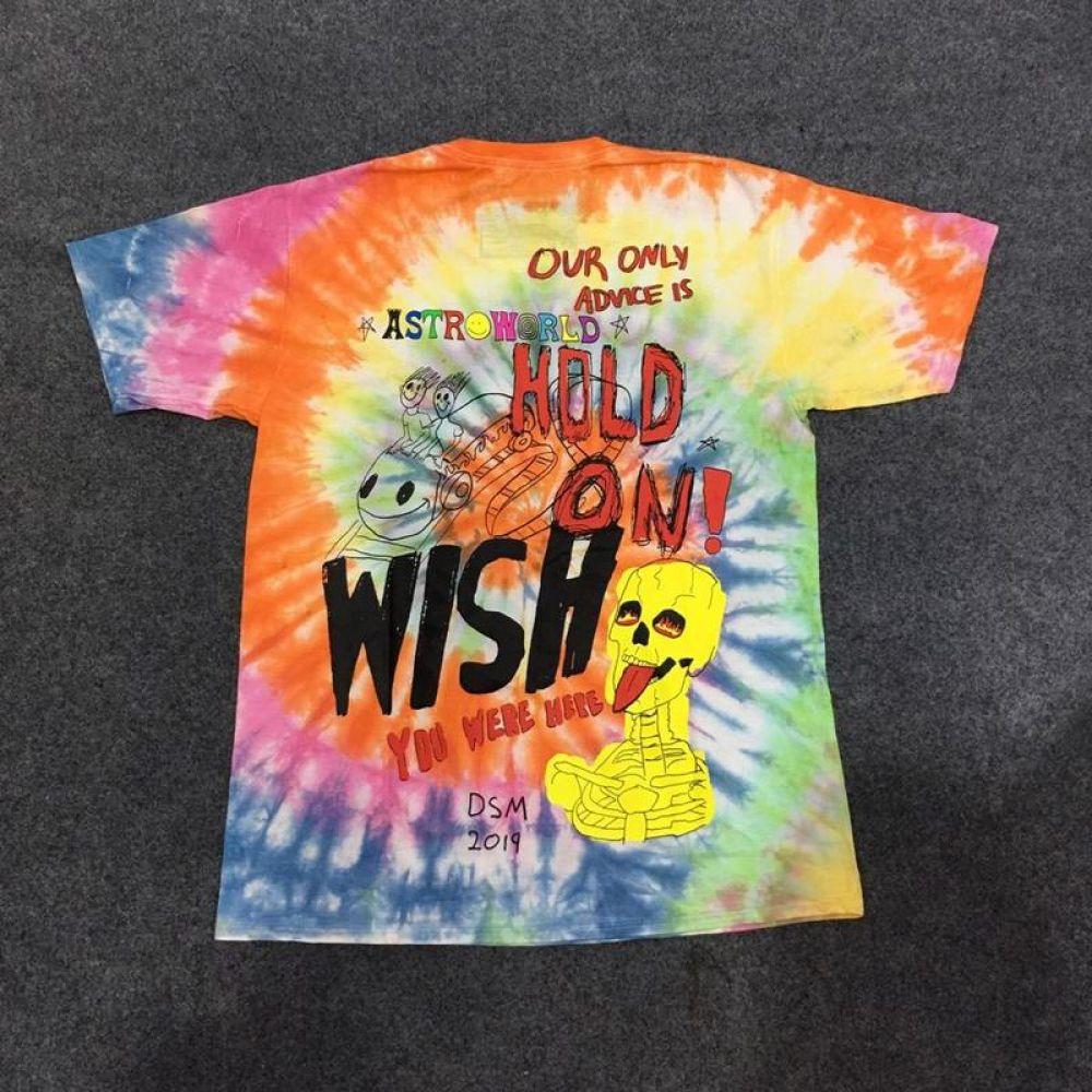 45 55 Travis Scott Astroworld Tour Astronaut Tee Tie Dyeing Astroworld T Shirt Dresses Grunge Croptop Tre Tie Dye T Shirts Hip Hop Tshirts Mens Shirts [ 1000 x 1000 Pixel ]