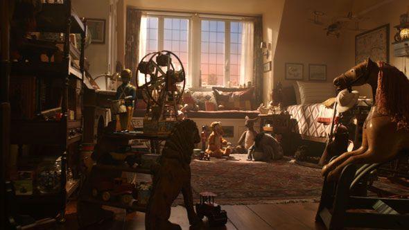 Christopher Robin Bedroom Kids Room In 2019 Movies